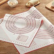 أدوات المعجنات الدوارة من وووايس أدوات المطبخ حصيرة الخبز سيليكون مع ملحقات الخبز (1)