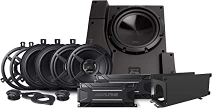 Alpine Electronics PSS-22WRA Alpine Electronics PSS-22WRA Weather Resistant Direct Fit Sound System for 2007-2018 Jeep Wrangler JK Unlimited Without The Factory Equipped Alpine Amplified System