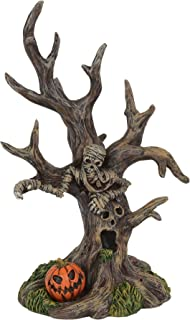 Department 56 Halloween Collections Petrified Tree Figurine Village Accessory, Multicolor