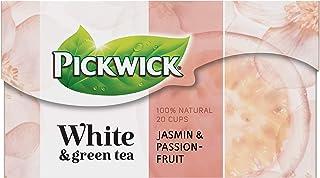Pickwick White & Green Tea Jasmin Passionfruit, Witte en Groene Thee met Jasmijn en Passievrucht (240 Theezakjes, 100% Nat...