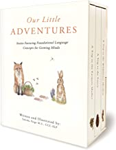 Our Little Adventure Series: A Modern Heirloom Books Set Featuring First Words and Language Development