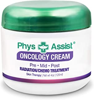 Oncology Cream 4 oz. Pre Mid. Post Radiation, Chemo Treatment. Soothing, Calming and Hydrating to Stressed ...