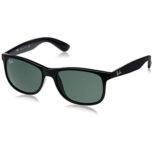 a5337bc2105 Ray-Ban Andy Wayfarer Sunglasses in Shiny Havana Green Silver Polarised  Mirror RB4202 710