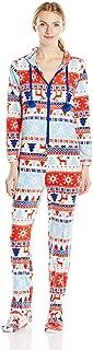 Hooded Footie Fleece Pajama