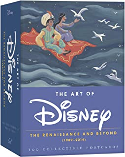 The Art of Disney: The Renaissance and Beyond (1989 - 2014) 100 Collectible Postcards (Disney Postcards, Cute Postcards for Mailing, Fun Postcards for Kids)