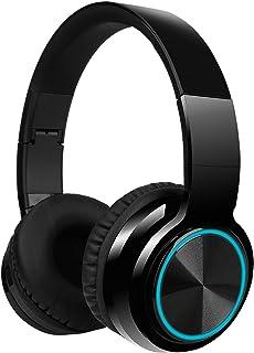 LUUSAMA Active Noise Cancelling Headphones Bluetooth Headphones with Microphone Deep Bass Wireless Headphones Over Ear, Co...