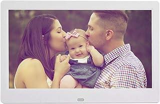 BOLORAMO Cadre Photo Numérique, 10 Pouces 16:9 1024 * 600 HD Cadre Photo Numérique Grand écran Album électronique sans Fil...
