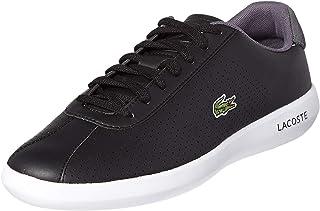 Lacoste Avance Sneaker For Men, Black, Size 13 US