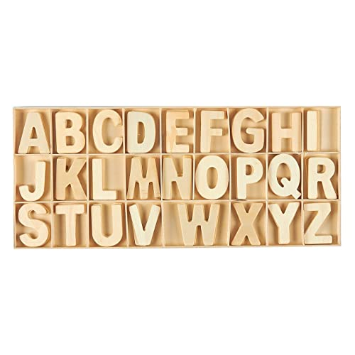 Wood Block Letters Amazoncom