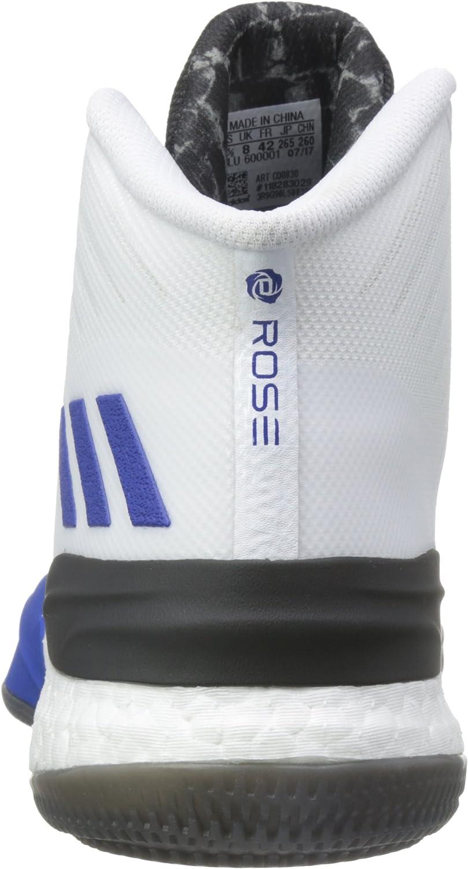 adidas D Rose 8, Scarpe da Fitness Uomo Vari Colori Ftwbla Azusld Negbas