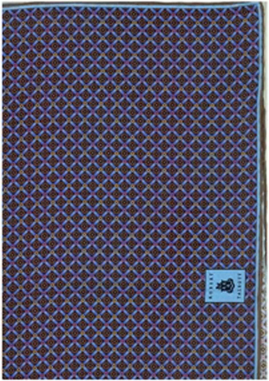 Robert Talbott Brown Pinhead Design Best of Class Pocket Square 16.5