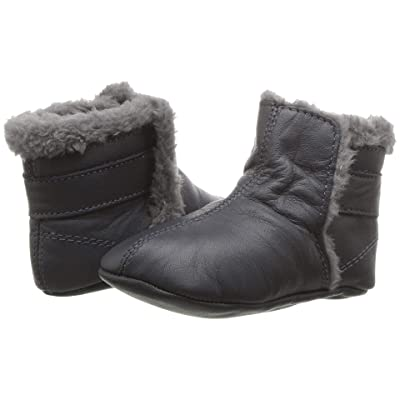 Old Soles Polar Boot (Infant/Toddler) (Navy/Dark Silver) Boy
