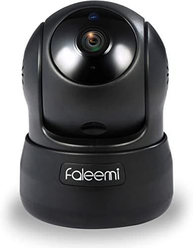 Faleemi HD Pan/Tilt Wireless WiFi IP Camera, Home Security Video Transmission Surveillance System, Nanny Cam with Two...