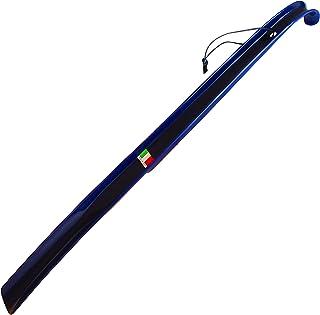 近藤 イタリア製 おしゃれ な ロング 靴べら ロングエッテ ネイビー 60cm