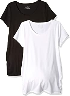 Women's Maternity Bumpstart 2 Pack Short Sleeve Tee Shirts