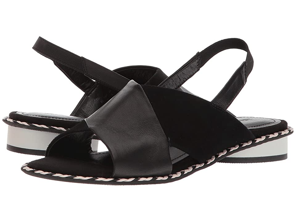 Kelsi Dagger Brooklyn Saline (Black Leather/Suede) Women