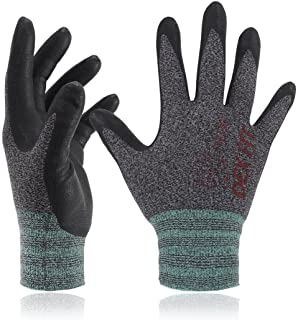 DEX FIT Nitrile Work Gloves FN330, 3D Comfort Stretch Fit, Power Grip, Smart Touch,..