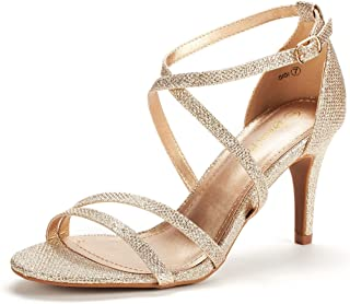Women's Fashion Stilettos Open Toe Pump Heeled Sandals