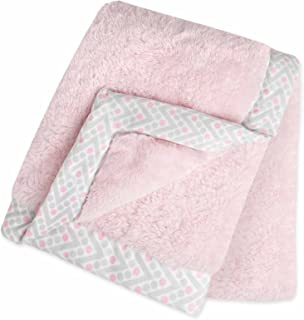 Just Born Plush Blanket, Pink
