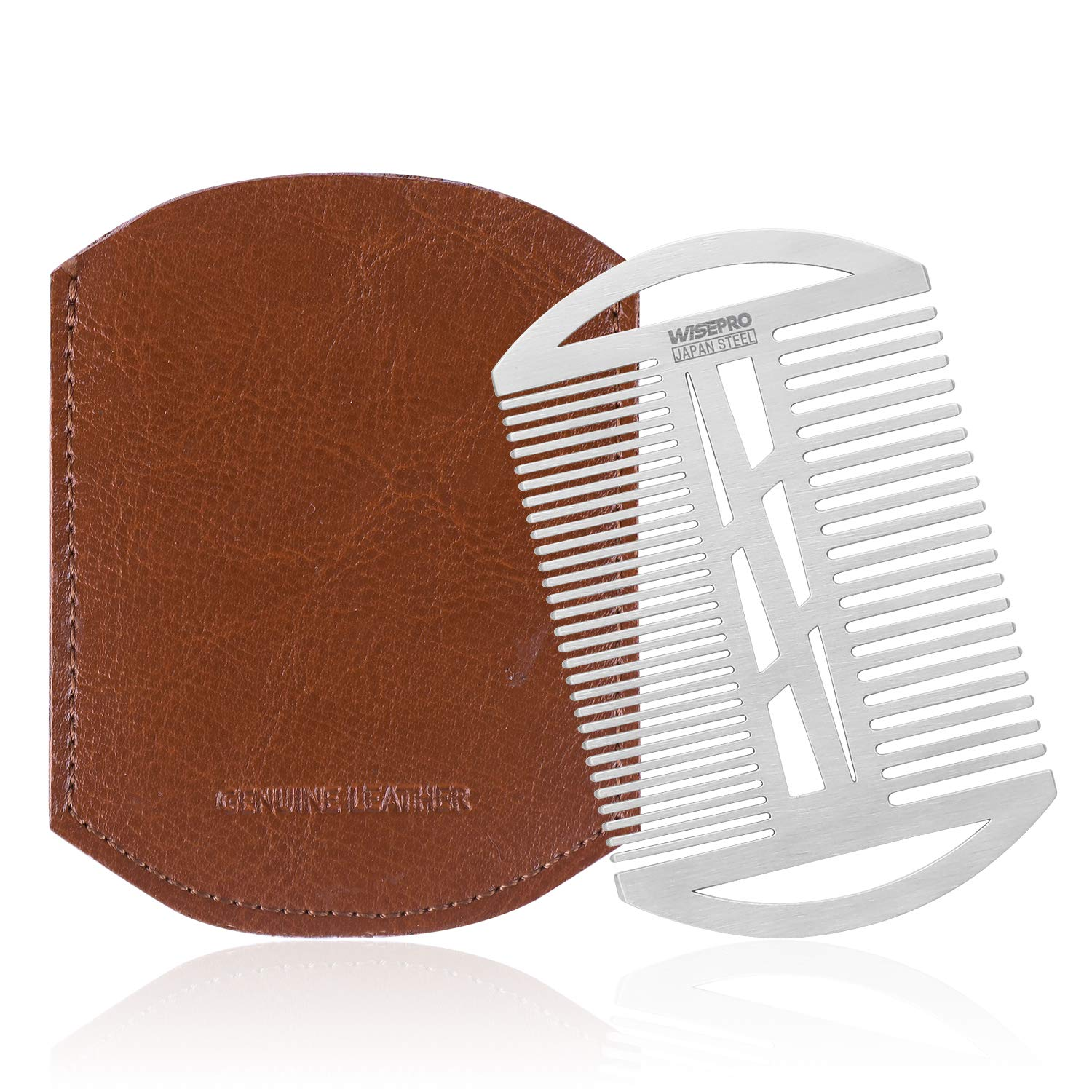 EDC Max 51% OFF Credit Card Size Beard Hair Comb Coarse Dual Fine A surprise price is realized Action