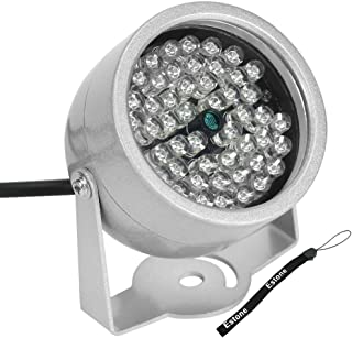LIYUDL 48-LED Ir Infrared Night Vision Illuminator, Security Camera IR Infrared Night Vision Lamp