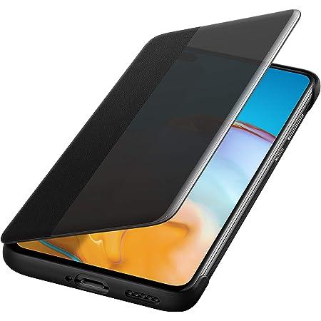 Huawei P40 Smart View Flip Handyhülle Originalzubehör Schwarz Elektronik
