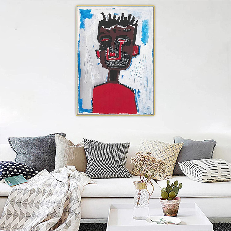 Youhu Nippon regular agency Jean Michel Art Painting Basquiat《self-Portrait》Canvas Branded goods