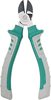 Berrylion Wire Cutter Heavy Duty 7-Inch Are Diagonal Side Cutting Pliers With Precision Flush Cutting   These Dikes Side Cutters Are A Great Tool To Cut Thick Material   High Leverage Cable Cutters