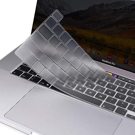 MOSISO Cubierta de Teclado Compatible con 2020 MacBook Pro 13 Pulgadas A2338 A2289 A2251/2019 MacBook Pro 16 Pulgadas A2141 con Touch ID & Pantalla ...