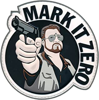 Patch Squad Men's Mark It Zero Big Lebowski PVC Patch