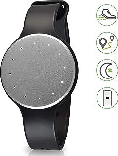 Pyle Bluetooth Smart Activity Fitness Tracker - Waterproof Sport Multifunction Fit Sports Running Wrist Watch Gear w/Sleep Monitor, Pedometer, Best Fitness Tracker for Women/Men PSB1SL.5 (Silver)