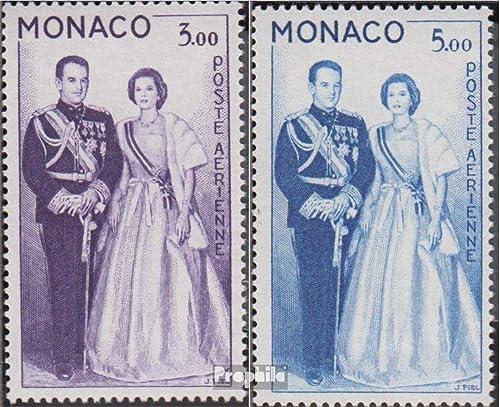 Prophila Collection Monaco 655-656 (kompl.Ausg.) 1960 Fürsten (Briefmarken für Sammler)