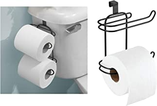 Bosphorus Toilet Paper Stand with Reducer, Black, 09377Es