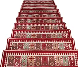 JIAJUAN Stair Carpet Treads Rectangle Rugs Stairs Tread Mats Indoor Modern, 2 Colors, 2 Sizes, Customizable (Color : B-5 p...