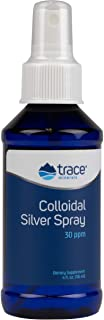 Trace Minerals Research Vegan Colloidal Silver Spray, Bio-Active Silver Hydrosol Liquid Mineral Supplement, Certified Orga...
