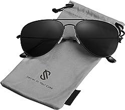 SojoS Gafas De Sol Para Hombres Y Mujeres Aviador Clásico