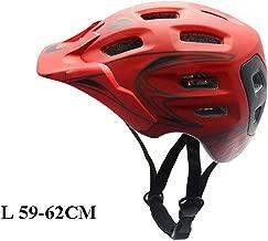 whhuwai Downhill Bicycle Cycling Safety Endurance Helmet Racing Road Bike Sports Integrally-Molded Helmet Visor