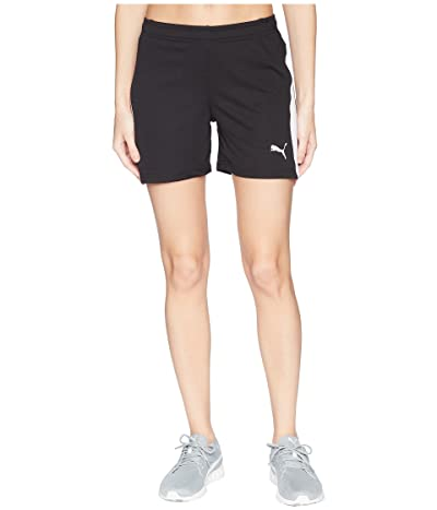 PUMA Liga Shorts (Puma Black/Puma White) Women