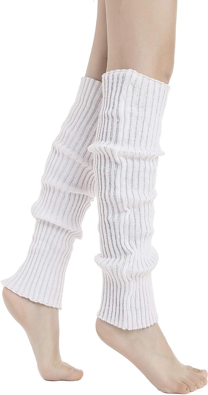 Sarfel Leg Warmers for Women 80s Ribbed Knit Leg Warmer Custume Womens Leg Warmers Sports Party Accessories