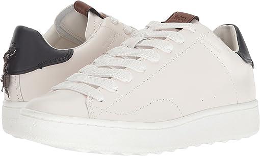 White/Midnight Navy Leather 2