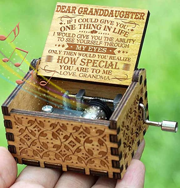 Engraved Music Box You Are My Sunshine Gift For Granddaughter From Grandma How Special You Are To Me From Grandma