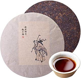 プーアル茶 2006年雲南古樹普洱熟茶357g 中国茶 餅茶 茶葉 黑茶 高山茶 茶叶 耕云种月 健康茶無添加 普洱茶