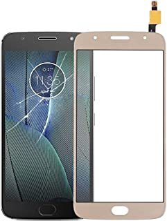 Mobile Phones Communication Accessories Touch Panel for Motorola Moto G5S Plus(Black) (Color : Gold)
