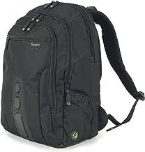 Targus EcoSpruce - Mochila de 27 litros Ideal para viajes de trabajo, estudio, gimnasio y fin de semana, se adapta a la mayoría de las laptops de hasta 15.6