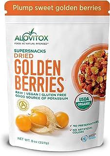 Sponsored Ad - Organic Sun Dried Golden Berries 8 oz | Raw, Vegan, Gluten Free Super Snack High in Smart Protein, Dietary ...