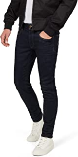 G-Star Raw Mens D05702-8968 3301 Deconstructed Slim Jeans - Blue - 38W x 34L