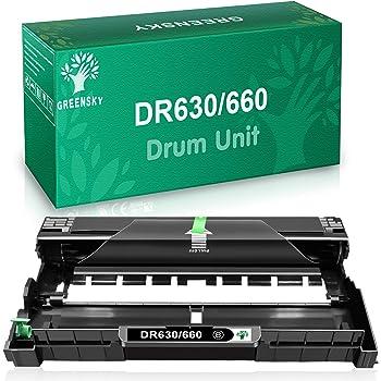USA Advantage Compatible Drum Unit Replacement for Brother DR630 DR-630 Black,1 Drum