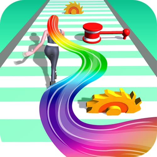 Hair Runner Challenge game 3d to make your hair long by coll
