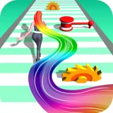 Hair Runner Challenge game 3d to make your hair long by collecting all hair in this girls hair games 2021 with giant hair saloon race fun rush to enjoy hairs makeover run