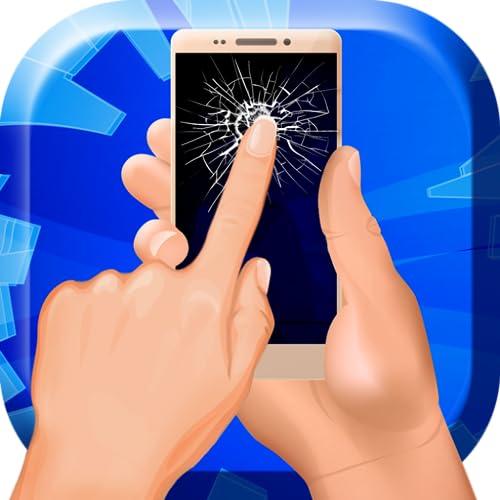 Super gebrochener Bildschirm